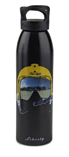 BLUE ANGELS HELMET 24OZ BOTTLE - 100% USA-MADE 24oz Single Wall Water Bottle Texured Art 100% USA-MADE SKU: 103113