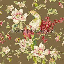 Tropische vogel met magnolia`s behang 322320 romantisch Eijffinger