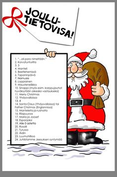 Kids Christmas, Christmas Crafts, Xmas, Finnish Language, Scandinavian Christmas, Hobbies And Crafts, Diy Cards, Special Education, Elf