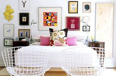 Eye Candy: Art-Filled Bedrooms and Living Rooms
