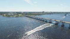 Bradenton, FL, US 301 Bridge, shot by Tampa Photographer http://celebrationsoftampabay.com/