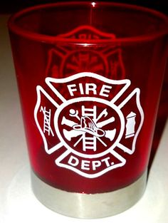 A SIX-PACK of Fire Department acrylic shot glasses at a discounted price, just in time for the holidays. www.FireandRescueStore.com