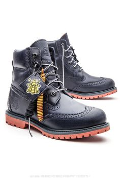 Timberland x Beeline Brouges in Navy by Pharrell Williams 2014