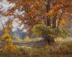 Mark Haworth, Cypress Autumn, 16x20