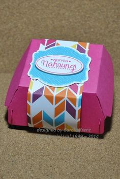 Stampin' Up! - Hamburger Box