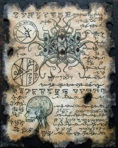 CULT of YOG SOTHOTH Cthulhu larp Necronomicon lovecraft by zarono