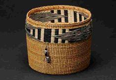 Basket by Diane Willard (Haida) -- Stonington Gallery, Seattle.