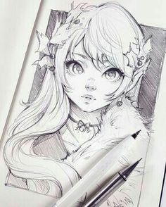 Featured artist: Telimena Ladowska # imagined, - Drawing Still 2020 Art Inspo, Kunst Inspo, Inspiration Art, Manga Drawing, Manga Art, Drawing Sketches, Anime Art, Drawing Artist, Art Du Croquis