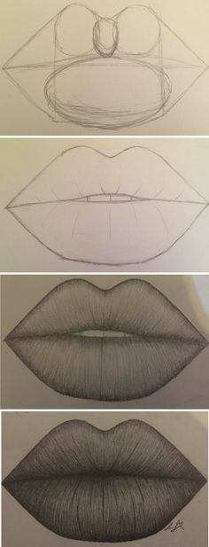 Amazing Lip Drawing Ideas & Inspiration · Brighter Crafts - Indispensable address of art 20 + Erstaunliche Lippenzeichnung Ideen & Inspiration · Helleres Handwerk – Indispensable address of art amazing lip drawing ideas & inspiration · brighter craft Pencil Art Drawings, Art Drawings Sketches, Easy Drawings, Animal Drawings, Drawings Of Lips, Amazing Drawings, Cute People Drawings, How To Shade Drawings, Pencil Sketches Easy