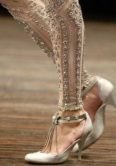 embellished tights...I feel like I would maybe wear these?