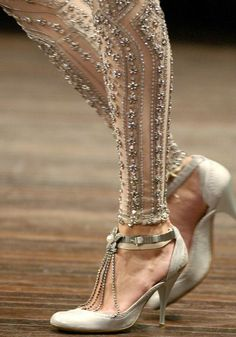 embellished tights...I feel like I would maybe wear these?