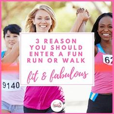3 reasons why you should enter a fun run or walk. You set a fitness goal, you support a worthy cause or charity and you have fun You Fitness, Fitness Goals, Fitness Tips, Self Appreciation, Getting To Know, Get Started, Healthy Living, Have Fun, Walking