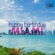 We´re happy to celebrate the Miami´s anniversary today! A young and enterprising city with barely... 120 years. #HappyBirthday | Estamos felices de celebrar el aniversario de Miami! Una ciudad joven y emprendedora con apenas... 120 años.   #FelizCumpleaños #Miami #Birthday #happyanniversary #miamibeach #celebrate #city #party #miamiparty #celebration #photooftheday #instaday #like #branding #enterpreneur #miamilife