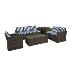Tegan 12 Piece Multiple Chairs Seating Group with Cushions & Reviews | Birch Lane