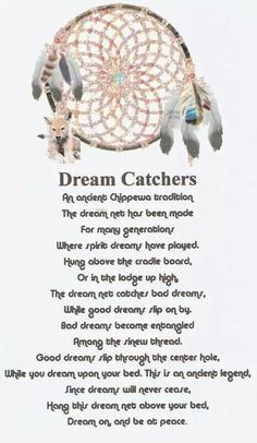 Dream Catcher Purpose Beautiful Story To Read To Kids  Then Hang A Dreamcatcher In Their