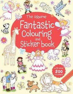 A-bumper-activity-book-that-provides-hours-of-creative-fun-It-is-packed-full-of-scenes-to-colour-and-over-200-stickers