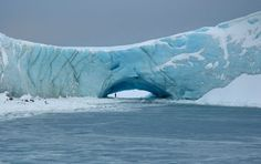 Natural arch in a glacier at Norsel Point, Anvers Island, Antarctica (Glenn Grant/National Science Foundation) Alaska, Antarctica Cruise, Antarctica News, Sea Level Rise, Wanderlust, Exploration, Amazing Nature, Places To See, Tourism