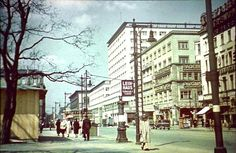 Color Photos of Berlin from 1941-42 Europahaus am Anhalterbahnhof...