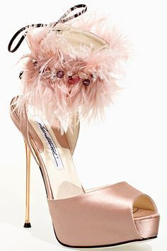 Brian Atwood - Shoes - 2011 Fall-Winter - Uploaded by ShazB Stilettos, Stiletto Heels, Pumps, Ankle Boots, Heeled Boots, Shoe Boots, Zapatos Shoes, Shoes Heels, Pink Shoes