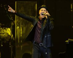 """Baby, I'm your leading man."" Current GRAMMY nominee Gavin DeGraw preps for his upcoming GRAMMY week performance and hits a high note during a concert on Jan. 7 in Sunrise, Fla."