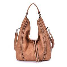 34.99 - Women Hobo Bags Oversized Leather Handbags PU Crossbody Shoulder  Totes Winter Stylish Purses Tote 06bf735c23ee6
