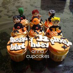 Naruto cupcakes