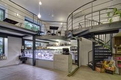 projekt Delirium Gourmet Stairs, Loft, Bed, Furniture, Home Decor, Gourmet, Stairway, Decoration Home, Stream Bed
