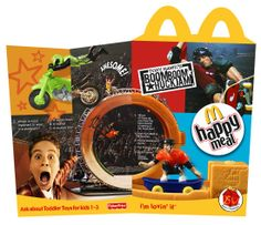 McDonald's #tonyhawk Happy Meal box Happy Meal Box, Tony Hawk, Muscle Shirts, Skate Park, Wallet Chain, Toddler Toys, Mcdonalds, Kids Meals, Childhood