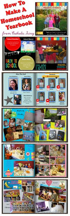 Making A Homeschool Yearbook: Tips And Inspiration