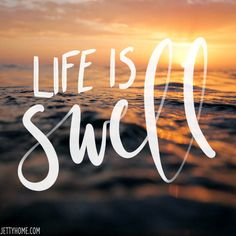It is indeed! Happy Tuesday! #lifeisswell #beachquotes #beachliving #beachlife #surfingquotes #surferquotes #tropicalquote