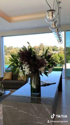 Modern Mansion Interior, Modern Architecture House, Luxury Homes Interior, Modern Houses, Home Room Design, Home Interior Design, Modern Villa Design, Luxury Homes Dream Houses, Modern Luxury