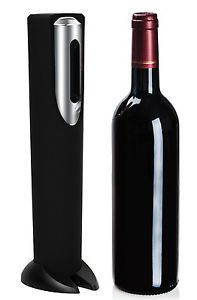 OxGord Electric Wine Opener with Automatic Corkscrew and Foil Remover