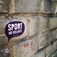 Sport nie melanże. #MUVment #vlepka #warszawa #sport Marketing, Health, Instagram Posts, Sports, Hs Sports, Health Care, Sport, Salud