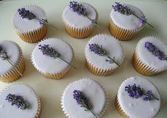Kitchen Delights: Lavender Cupcake Recipe