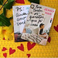 Amo ♡  #Read #Reading #Booklove #Bookporn #Bookstagram #Vscobooks #Instalivros #Livro #Instabook #FãsdeLivros #AmoLer #ILove #LoveReading #Love #LoveBook #bookgreek #bookhaul #bookcommunity #instareads #ilovereading #bibliophine #instagold #blogger #sorteiopsaindaamovocê #BoaTarde #JennyHan #Intrínseca