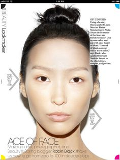 Robin Black for @ELLE Magazine (US) Weekly. Beauty Tutorial - Still One.