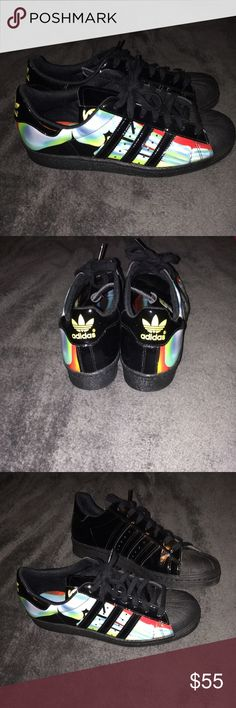 quality design 6e0cf 88d09 Adidas All star shell toe women size 9 These are Adidas all-star multicolor  patent