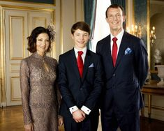 The Danish royals have gathered to celebrate the confirmation of Prince Felix, with former couple Countess Alexandra, and Prince Joachim, putting on a united front. Prince Felix Of Denmark, Princess Alexandra Of Denmark, Denmark Royal Family, Danish Royal Family, Danish Royalty, Greek Royalty, Casa Real, Royal Brides, Crown Princess Mary