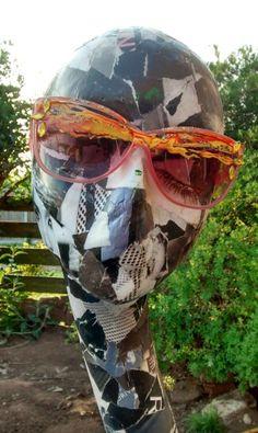 Painted sunglasses