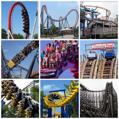 Carowinds is a theme park for all ages.Rides, attractions, and a water park too. How high do you dare go?