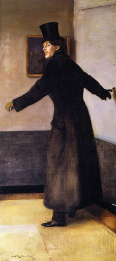 soircharmant: William Rothenstein - The Painter Charles Conder Toledo Museum of Art Toledo Museum Of Art, Art Museum, Mode Masculine, Tate Gallery, Phillips Collection, Jewish Art, Australian Art, Art For Art Sake, Western Art