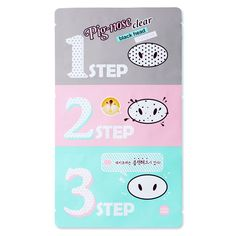 Holika Holika Pig-Nose Clear Blackhead 3-Step Kit