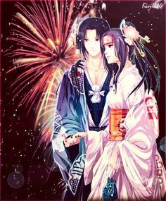 Itachi Uchiha in love