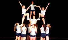 Catoctin High School Cheer Stunt