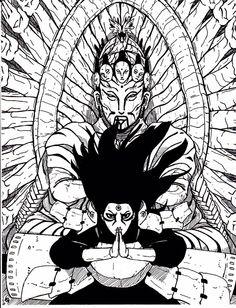 """Naruto🍥: Hokage Hashirama Senju - """"God of Shinobi"""" Anime Naruto, Fan Art Naruto, Naruto Shippuden Sasuke, Naruto Sketch, Naruto Drawings, Anime Drawings Sketches, Photo Naruto, Naruto Tattoo, Anime Tattoos"""