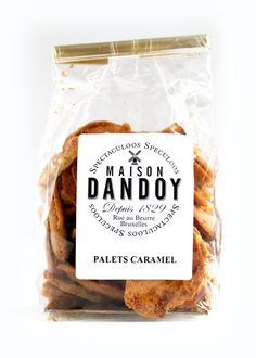 Maison Dandoy's Salted Caramel Biscuits: Salted caramel is even more addictive when it's folded into handmade, buttery Belgian cookies.