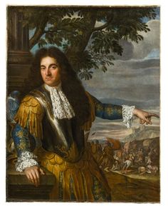 Portrait of a military commander, French school, circa 1700
