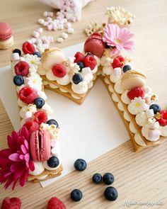Le number cake qui fait fureur – Mimi's cooking club The number cake that is all the rage – Mimi & # s cooking club 17 Birthday Cake, Birthday Cake With Flowers, Birthday Cake Decorating, Birthday Kids, Cake Cookies, Cupcakes, Cake Lettering, Buckwheat Cake, Number Cakes