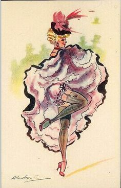 Saloon Showgirl
