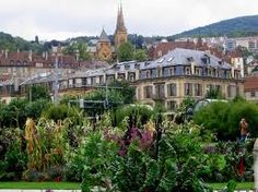Neuchatel, Switzerland, visited when I was in seventh grade in 1978 with my parents and sisters